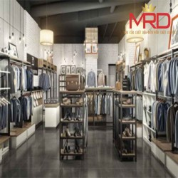 TỦ KỆ SHOP SHOWROOM INOX M22